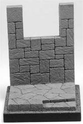 Medieval Battlement Figure Base