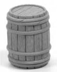 Half Closed Wooden Barrels