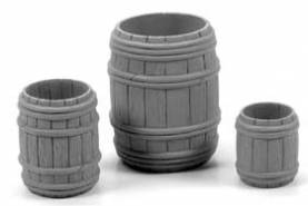 Open Wooden Barrel Combo Pack