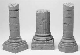Medium Column Base Ruin Set