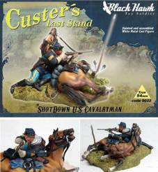 Custers Last Stand- Shot Down US Cavalryman & Horse