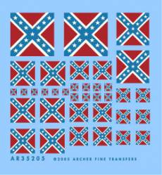 Confederate Battle Flags (Any Scale)