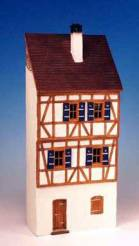German Half Timbered 2 Story Building