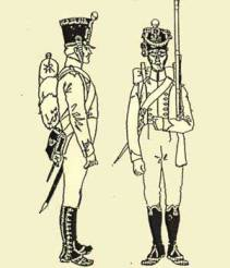 Flanqueur of the Imperial Guard 1811-14