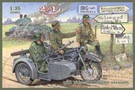 BMW R12 with Sidecar (Military Version)