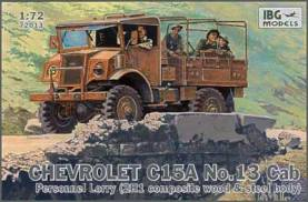 Chevrolet C15A Personnel Lorry