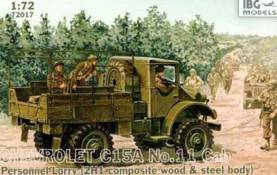 Chevrolet C15A No. 11 Cab Personnel Lorry