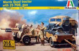 WWII Morris Quad Tractor with 25lb. Gun