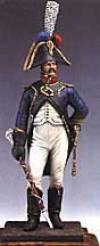 French Drum Major, 4th Regiment of Foot