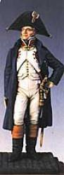 French Officer in Overcoat 1805