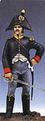 French Voltigeur Officer in Surtout 1806