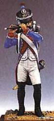 French Fifer, 3rd Regiment of Foot 1809