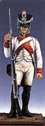French Fusilier in White Uniform 1807