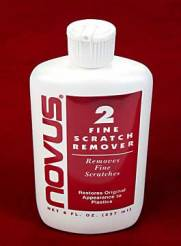 Novus #2 Fine Scratch Remover 2oz. Bottle