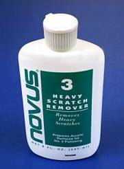 Novus #3 Heavy Scratch Remover 2oz. Bottle