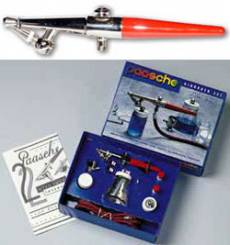 H Single Action Airbrush Set