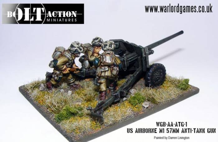 German 50 Mm Anti Tank Gun: WWII U.S. Airborne M1 57mm Anti Tank Gun