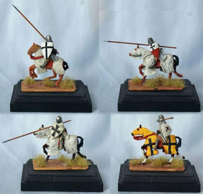 Teutonic Knights Charging