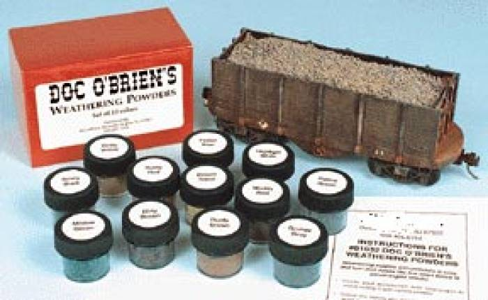Doc O�Brien�s Weathering Powders - ZOOM in