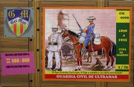 Spanish-American War- Spanish Altramar Civil Guard 1898-1925 Only 1 Available