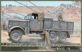 Einheits Diesel German Metal-Type Cargo Body Truck