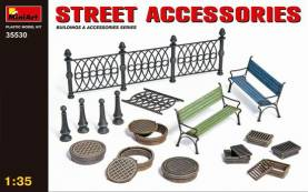 Street Accessories-Fence-Manhole Covers-Benchese