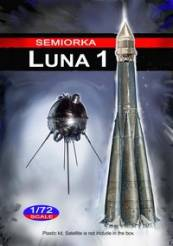 Semiorka Luna 1 Russian Moon Probe Rocket