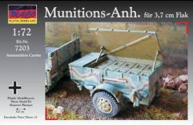 WWII German Munitions-Anh. F�r 3.7cm Flak (Ammunition Carrier)