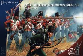 Perry Miniatures Napoleonic British Line Infantry 1808-15