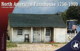 Perry Miniatures North American Farmhouse 1750-1900