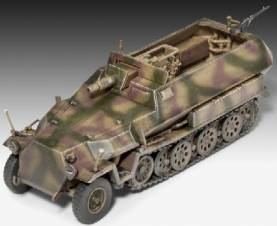 World War II German SdKfz 251-9 Ausf. C Halftrack