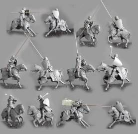 Teutonic Knights Charging