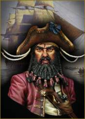 Black Beard 1718 - Queen Annes Revenge