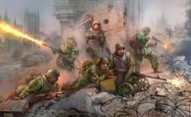 WWII Soviet Assault TroopsI - 6 Figures Set