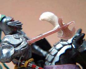 Replacement Swoppet Knight's Battle Axe