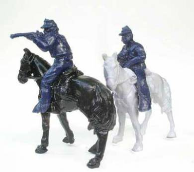 Mounted Union Cavalry