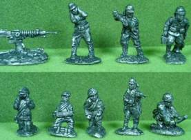Imperial Japanese Army LMG & HMG Teams