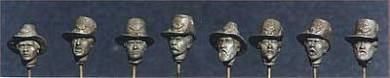 Assorted Hardee Hat Heads