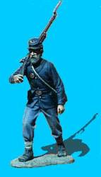 Union Infantry Advancing, Rifle Over Shoulder