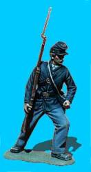 Union Infantry Attacking, Shoulder Arms
