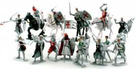 Crusaders with Horses Bagged Set