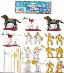 Knights, Horses & Armor Bagged Set