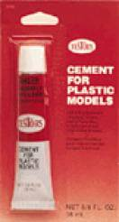 Cement for Plastic Models