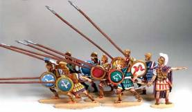 Ancient Greeks & Persians: Greek Phalanx #1 (9 pcs.)