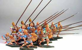 Ancient Greeks & Persians: Greek Phalanx #2 (14 pcs.)