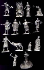 Medieval Court Figures