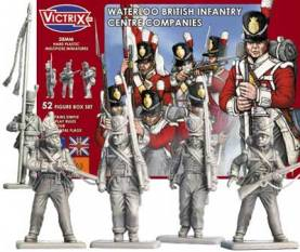 British Waterloo Infantry Centre Company