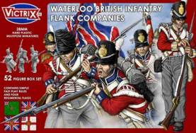 British Waterloo Infantry, Flank Company