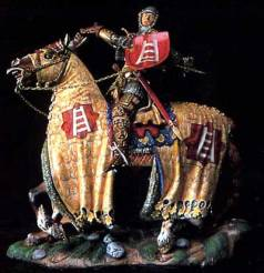 Italian Knight with Horse 14th Century