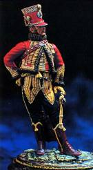 French Hussar Superior Officer 1815